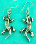 animal online jewelry shop presents lizard shaped sterling silver earring