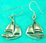 casting gold jewelry wholesale manufactured cruise ship sterling silver earring
